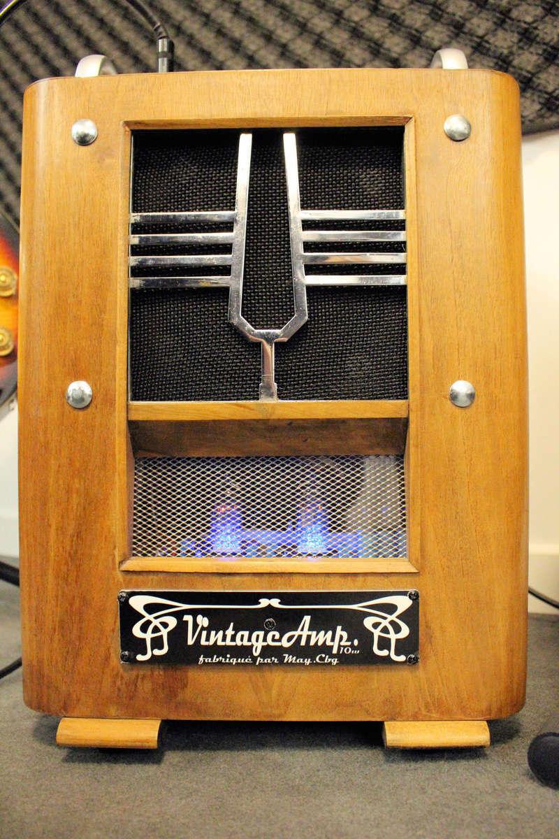 """VintageAmp : TSF + Marshall 10w + buffer à tubes + HP 6"""" 15W Jensen Img_1510"""
