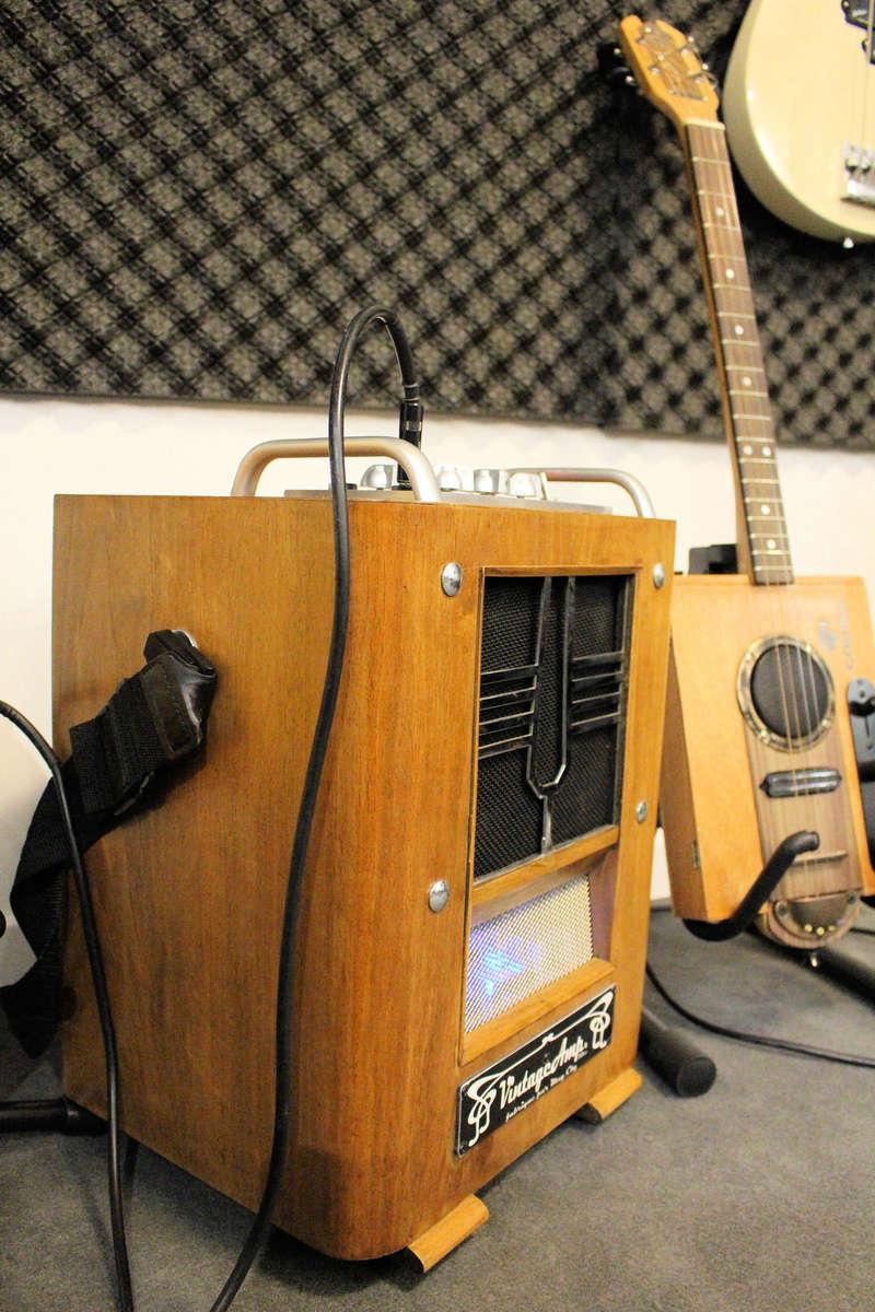 """VintageAmp : TSF + Marshall 10w + buffer à tubes + HP 6"""" 15W Jensen Img_1512"""