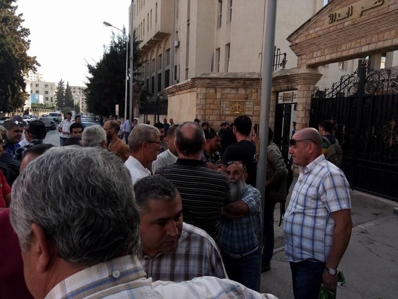 Rassemblement à Bejaia pour soutenir Yanis Adjlia victime d'acharnement sauvage des autorités locales 1133