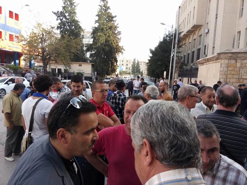 Rassemblement à Bejaia pour soutenir Yanis Adjlia victime d'acharnement sauvage des autorités locales 1134