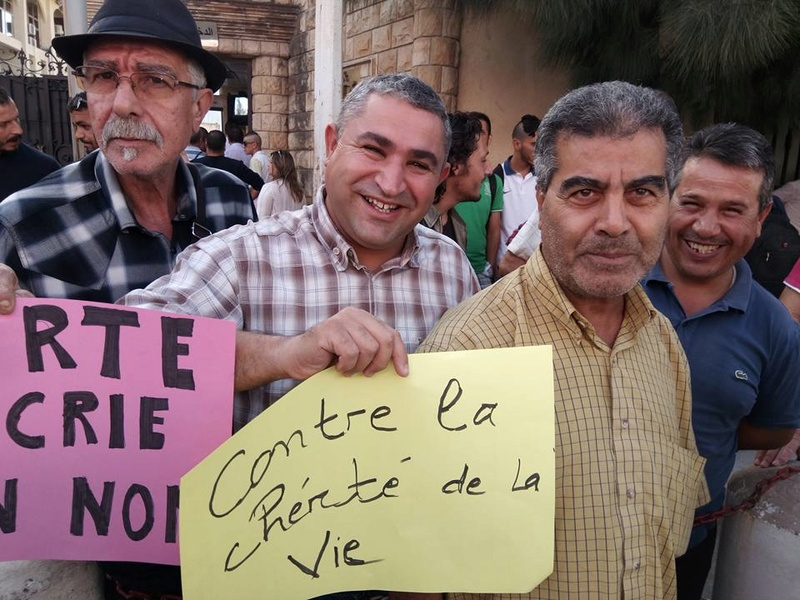 Rassemblement à Bejaia pour soutenir Yanis Adjlia victime d'acharnement sauvage des autorités locales 1138
