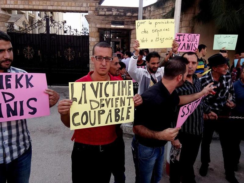 Rassemblement à Bejaia pour soutenir Yanis Adjlia victime d'acharnement sauvage des autorités locales - Page 2 1142