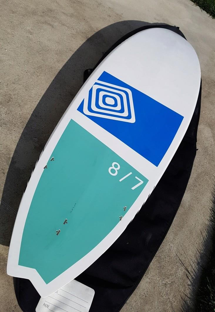 SUP NAHSKWELL SURF 8'7 Excellent état-  20161010