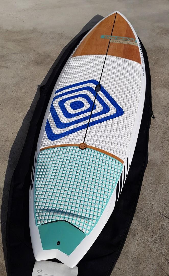SUP NAHSKWELL SURF 8'7 Excellent état-  20161011