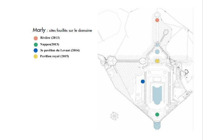 La vie retrouvée à Marly et à Versailles Cp_arc22