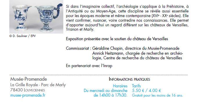 La vie retrouvée à Marly et à Versailles Cp_arc24