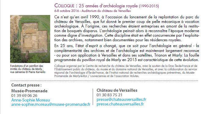 La vie retrouvée à Marly et à Versailles Cp_arc27
