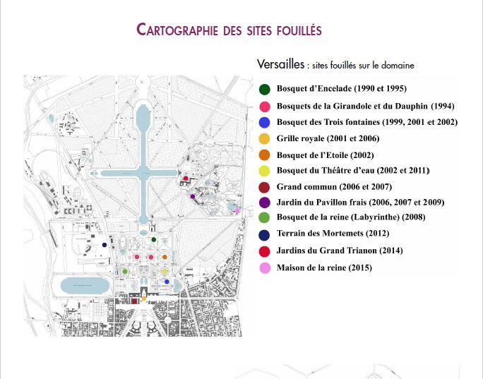 La vie retrouvée à Marly et à Versailles Cp_arc28