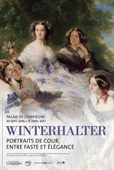 Exposition Franz Xavier Winterhalter, Compiegne Cpla6l10