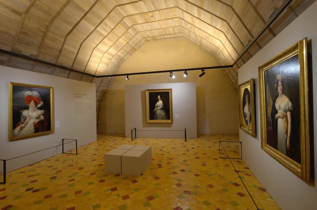 Expo. Le Goût de la parure à la Cour. XVIIe -XIXe siècles Cuutlb10
