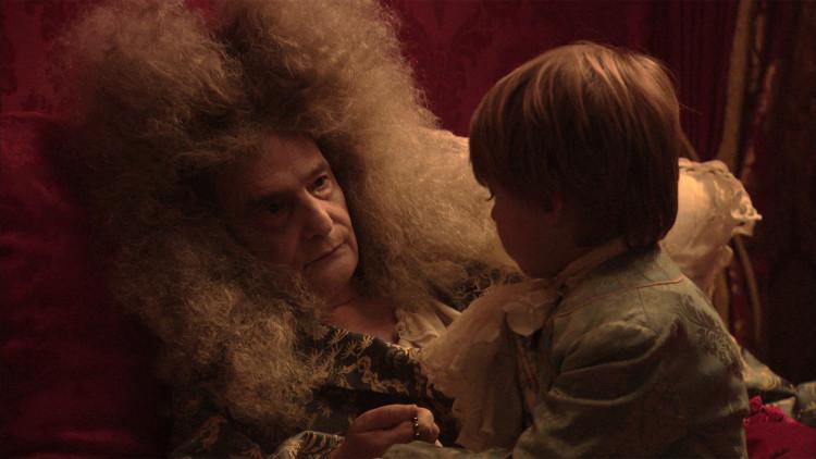 La mort de Louis XIV, film tourné au chateau de Hautefort Louis-10