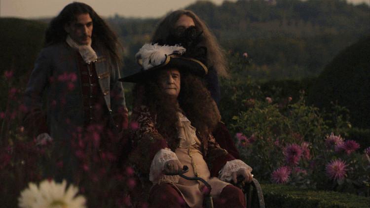 La mort de Louis XIV, film tourné au chateau de Hautefort Mortlo10