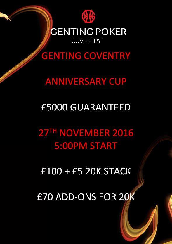 Anniversary Cup at Genting Coventry - 27th Nov 14344210