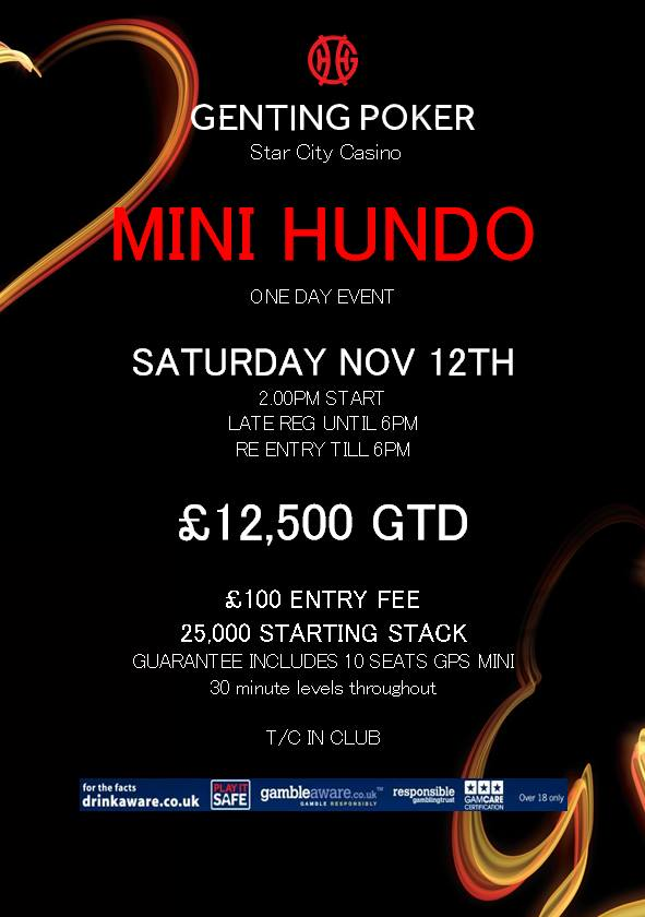 Mini Hundo at Star City - 12th Nov Hundo10