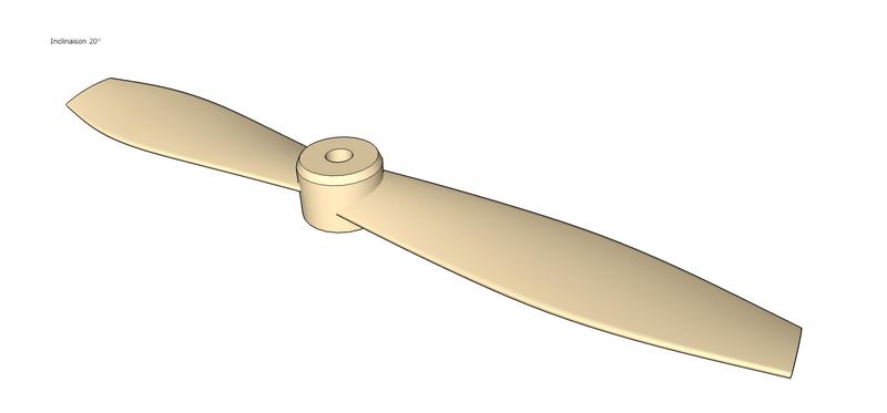 Fabrication d'une hélice à la CNC Boxfan11