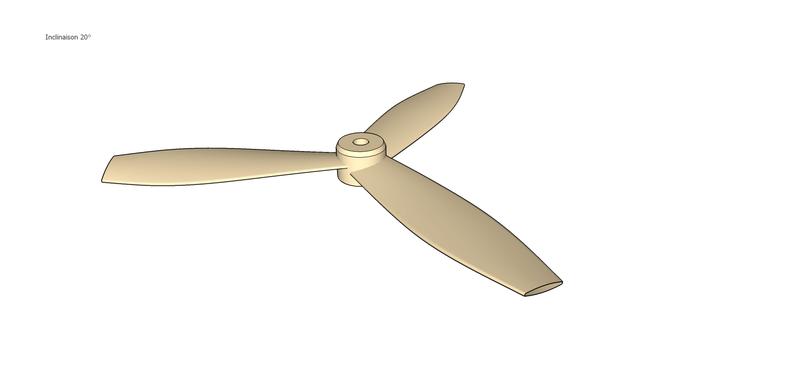 Fabrication d'une hélice à la CNC Boxfan12