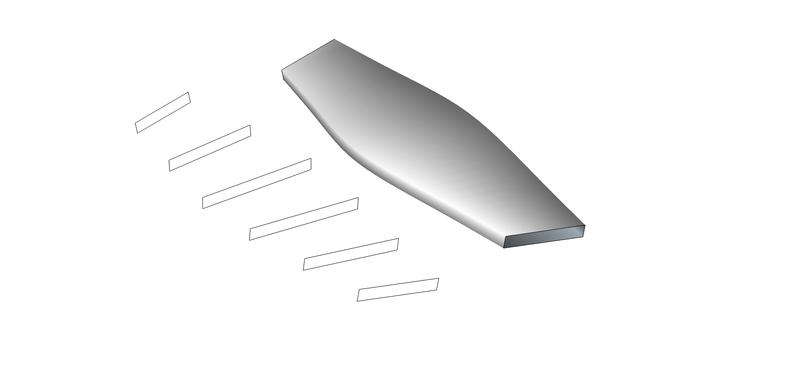 Fabrication d'une hélice à la CNC Helice10