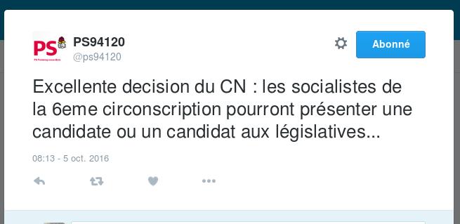 Législatives 2017 - Le PS du Val-de-Marne se prépare aux prochaines échéances Captur12