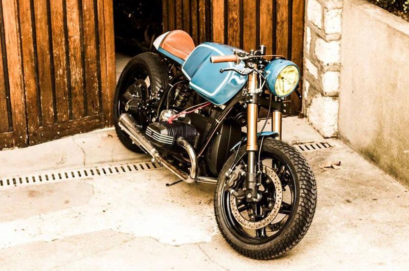 C'est ici qu'on met les bien molles....BMW Café Racer Crc7110