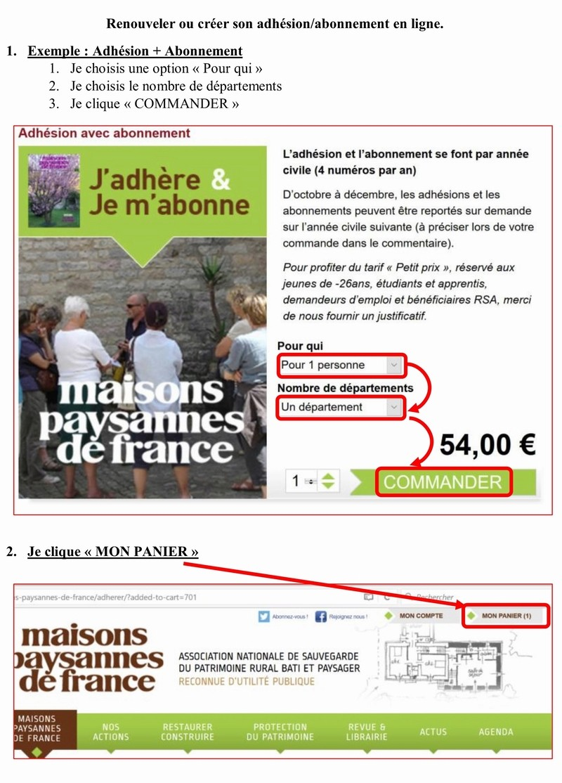 Adhérer en ligne à MAISON PAYSANNE DE FRANCE 1_copi19