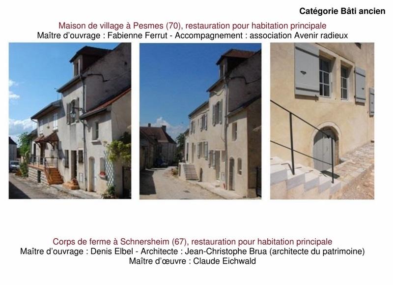 """9 lauréats pour le prix """"Architecture & Patrimoine"""" de Maisons Paysannes de France 1_copi21"""