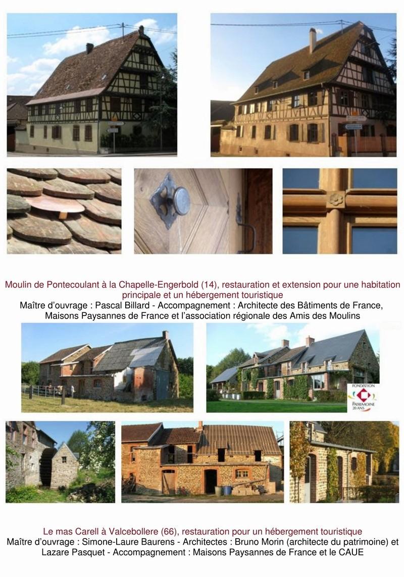 """9 lauréats pour le prix """"Architecture & Patrimoine"""" de Maisons Paysannes de France 2_copi14"""
