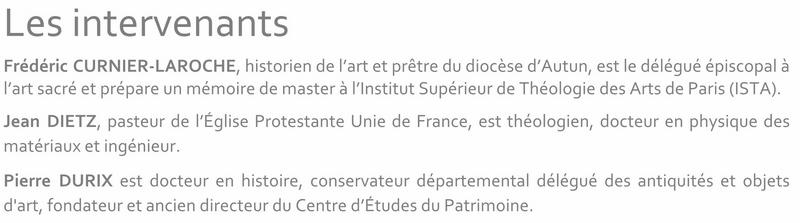 Conférences  d'art sacré PASTOURISME 2016 2017 2a_cop10