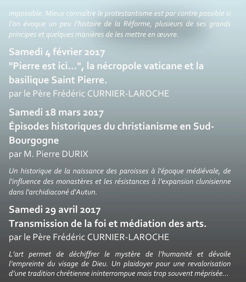 Conférences  d'art sacré PASTOURISME 2016 2017 2b_cop10