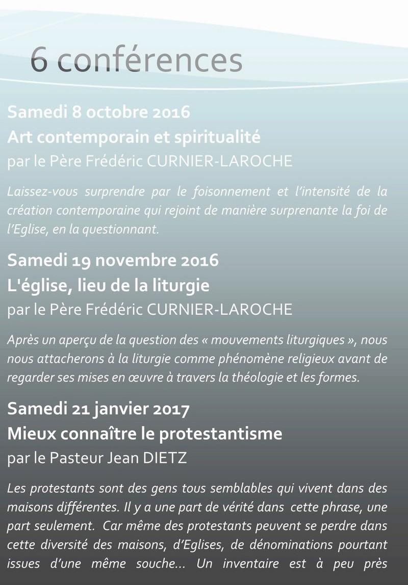 Conférences  d'art sacré PASTOURISME 2016 2017 2d_cop10