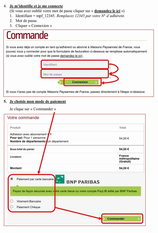 Adhérer en ligne à MAISON PAYSANNE DE FRANCE 3_copi13