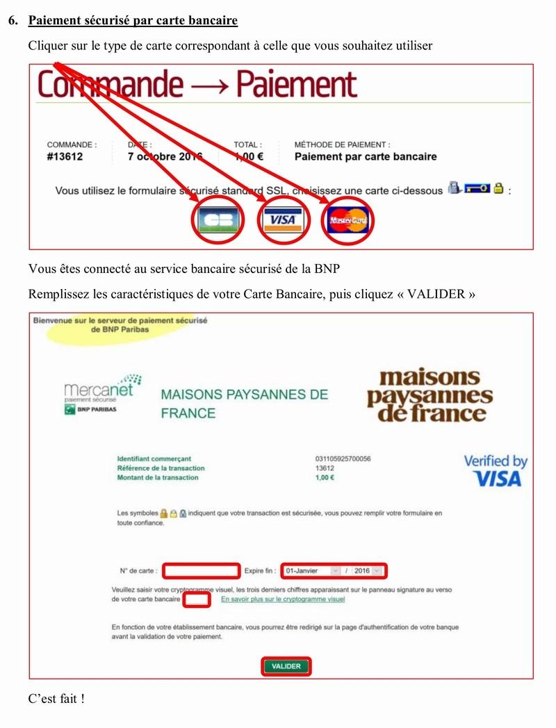 Adhérer en ligne à MAISON PAYSANNE DE FRANCE 4_copi12