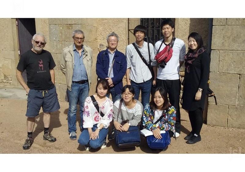 BUFFIÈRES - PATRIMOINE Les regards du Levant sur l'église  Une équipe d'universitaires japonais spécialisés en architecture a rendu une synthèse de ses travaux sur l'église du village. Les-si10