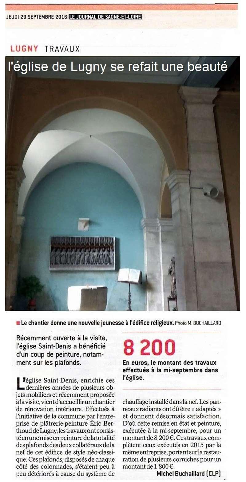 L'église de Lugny se refait une beauté Lugny_17