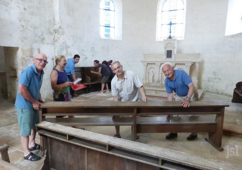 CHAPAIZE - BÉNÉVOLES DU PATRIMOINE Depuis 1969, ils œuvrent à la sauvegarde de leurs églises Title-10