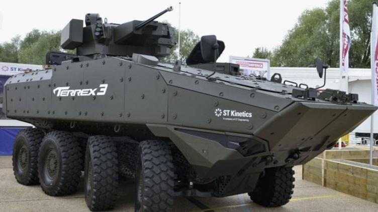 Armée Britannique/British Armed Forces Terex310