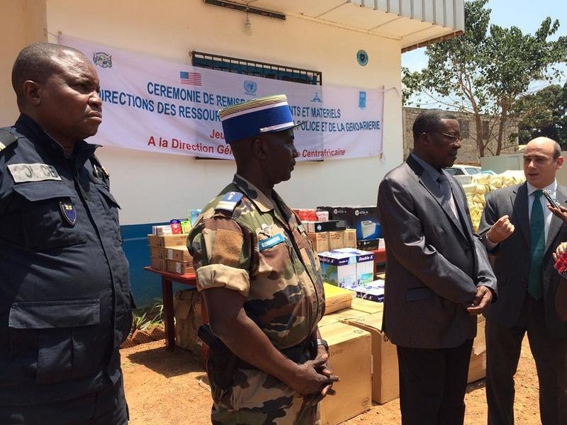 Armées de la République centrafricaine  - Page 2 61d103