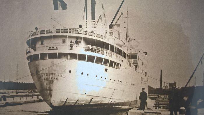 SS Leopoldville coulé D2b35010