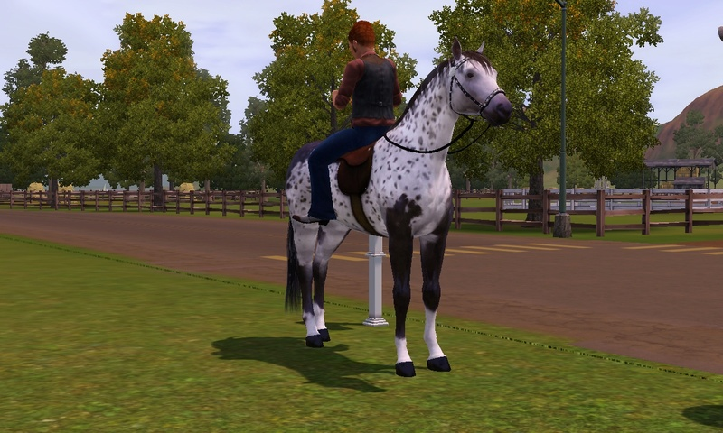 "[Challenge] Teens and Horses ""Sims 3"" Screen11"