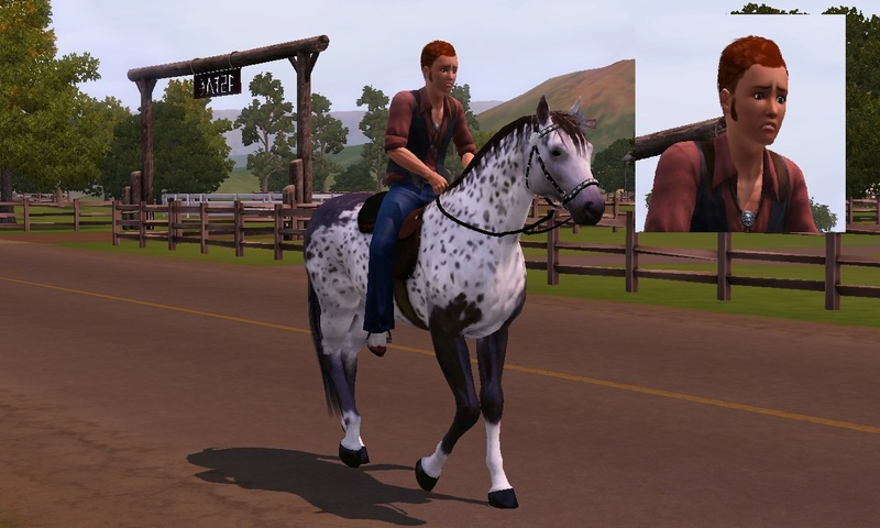 "[Challenge] Teens and Horses ""Sims 3"" Screen12"