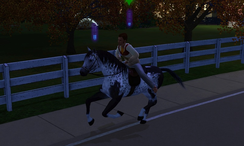 "[Challenge] Teens and Horses ""Sims 3"" Screen13"