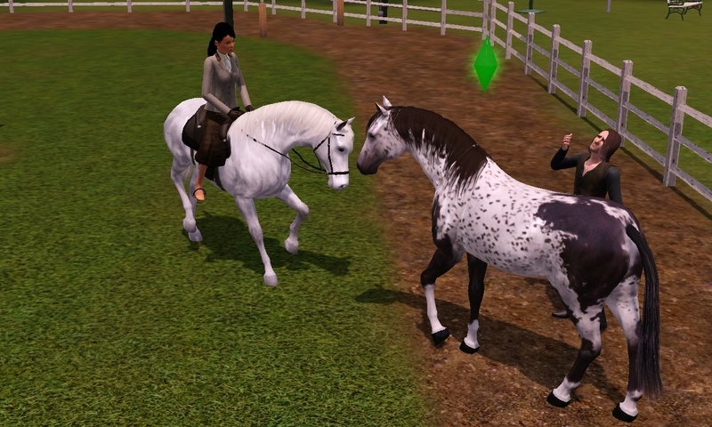 "[Challenge] Teens and Horses ""Sims 3"" Screen20"
