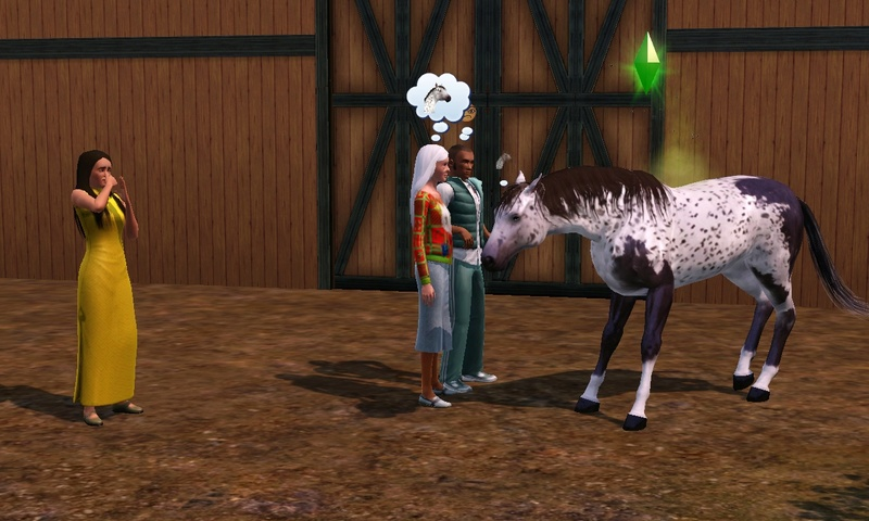 "[Challenge] Teens and Horses ""Sims 3"" Screen26"