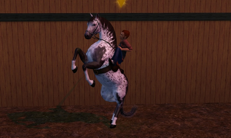 "[Challenge] Teens and Horses ""Sims 3"" Screen27"