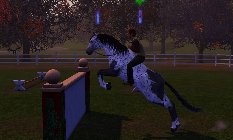 "[Challenge] Teens and Horses ""Sims 3"" Screen41"