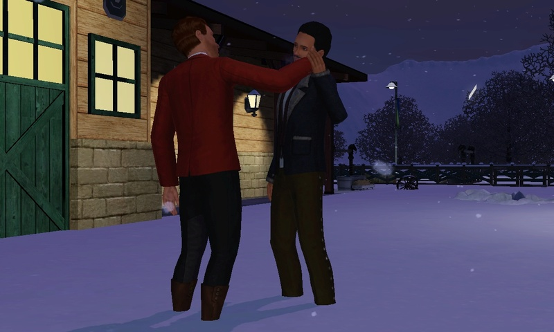 "[Challenge] Teens and Horses ""Sims 3"" Screen54"