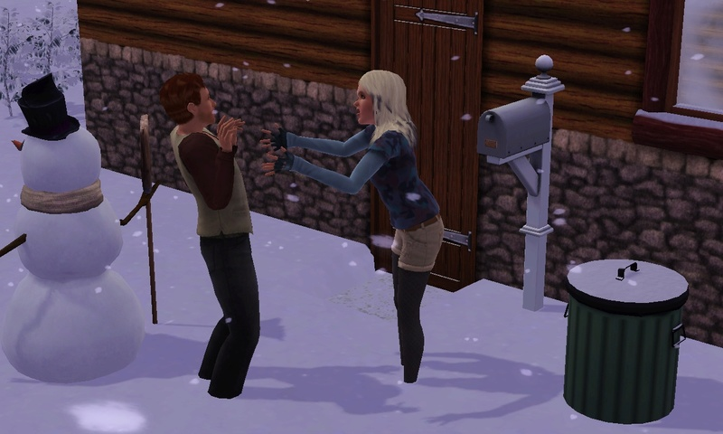 "[Challenge] Teens and Horses ""Sims 3"" Screen57"