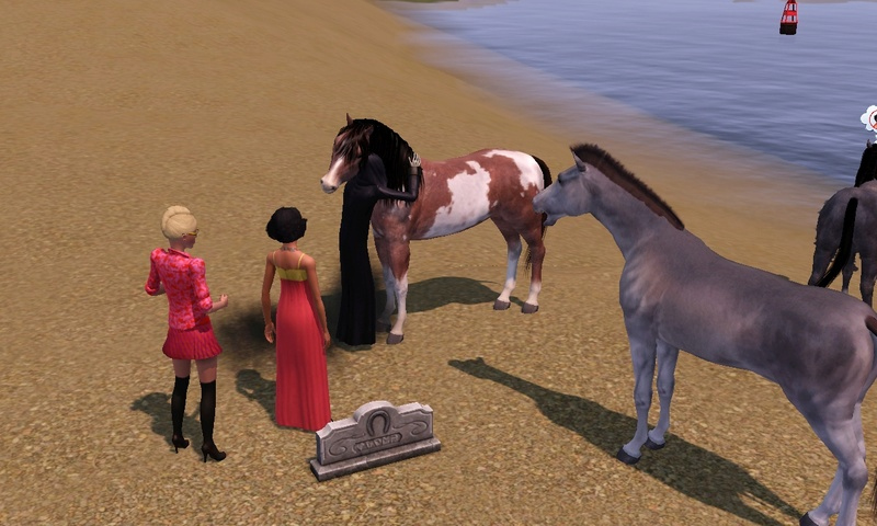 "[Challenge] Teens and Horses ""Sims 3"" Screen64"