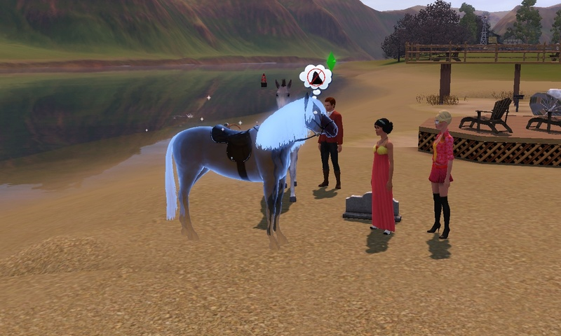 "[Challenge] Teens and Horses ""Sims 3"" Screen65"