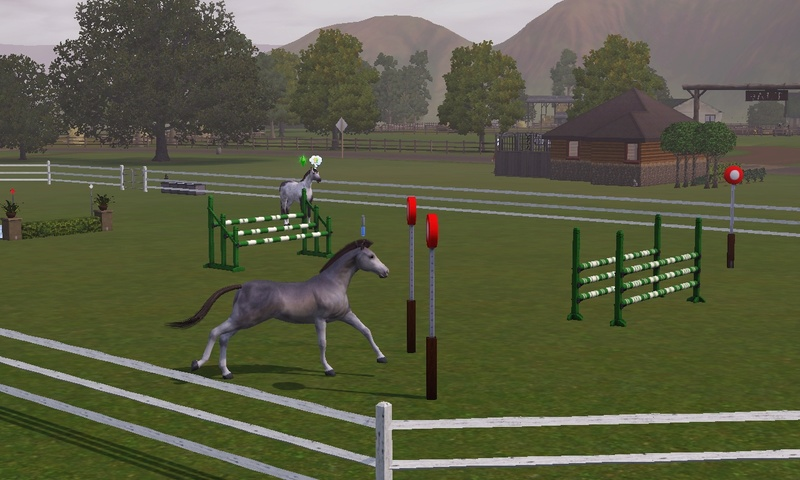 "[Challenge] Teens and Horses ""Sims 3"" Screen71"