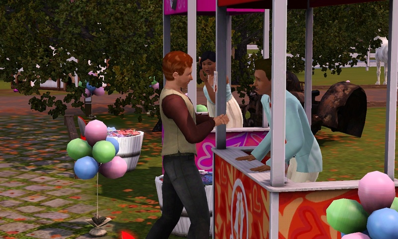 "[Challenge] Teens and Horses ""Sims 3"" Screen74"